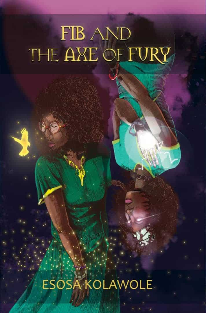fib and the axe of fury book cover